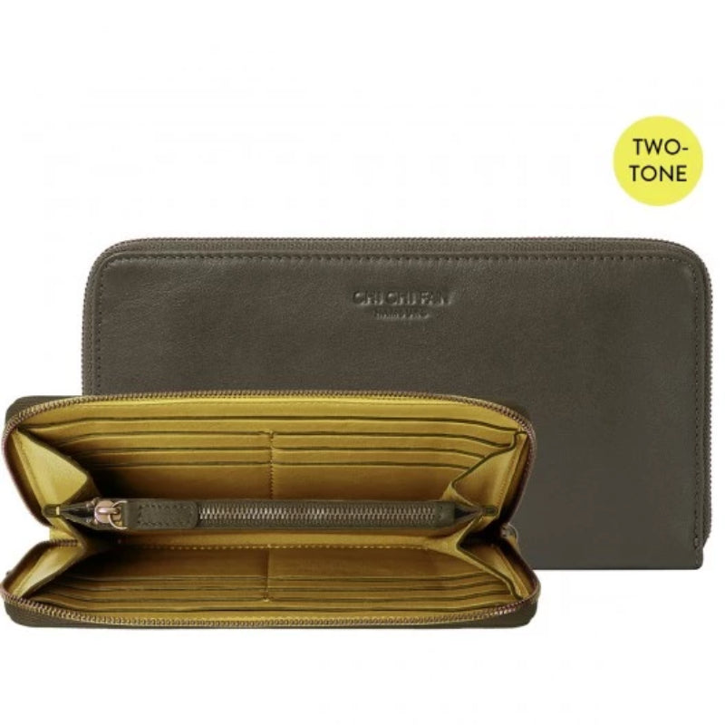 Classic Wallet Slim Two Tone Lemon Truffle