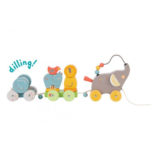 Pull-along Activity Elephant