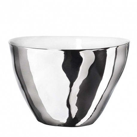 Platinum Glazed - Tall Salad Bowl