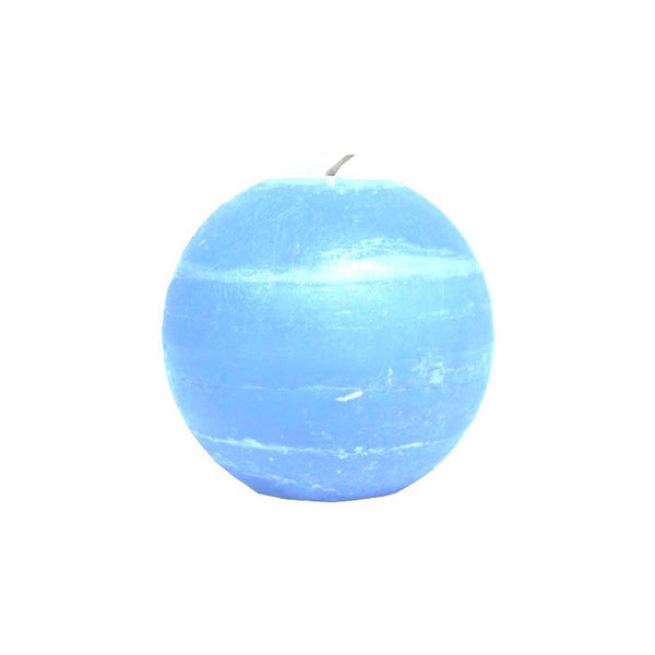 Ball Candle 6.5cm - Aqua Blue