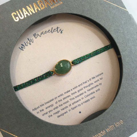 Argantinas Stone Collection Bracelet - Emerald