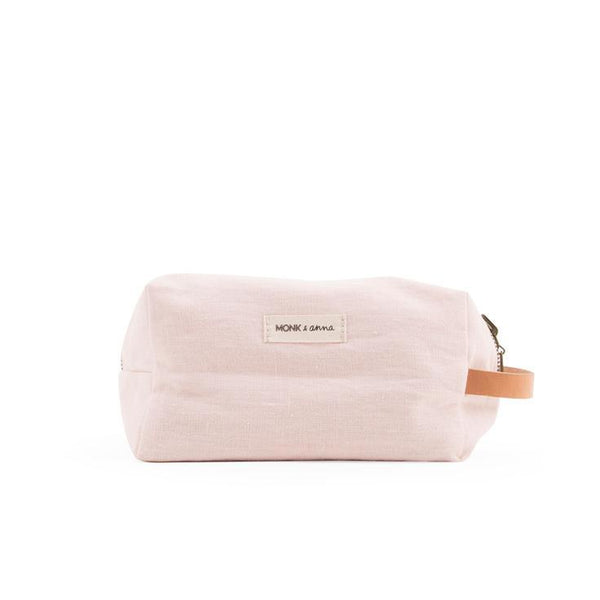 Monk & Anna Toiletry Bag Nude Pink