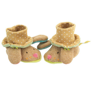 Les Tartempois Dog Baby Slippers