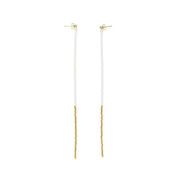 Endito Long Drop Earrings