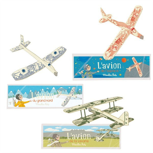 Balsa Wood L'Avion Planes