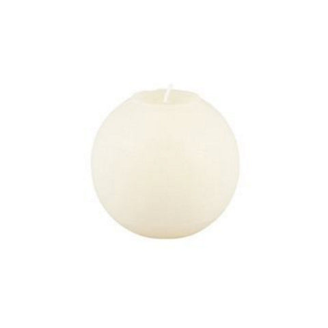 Ball Candle 6.5cm - White