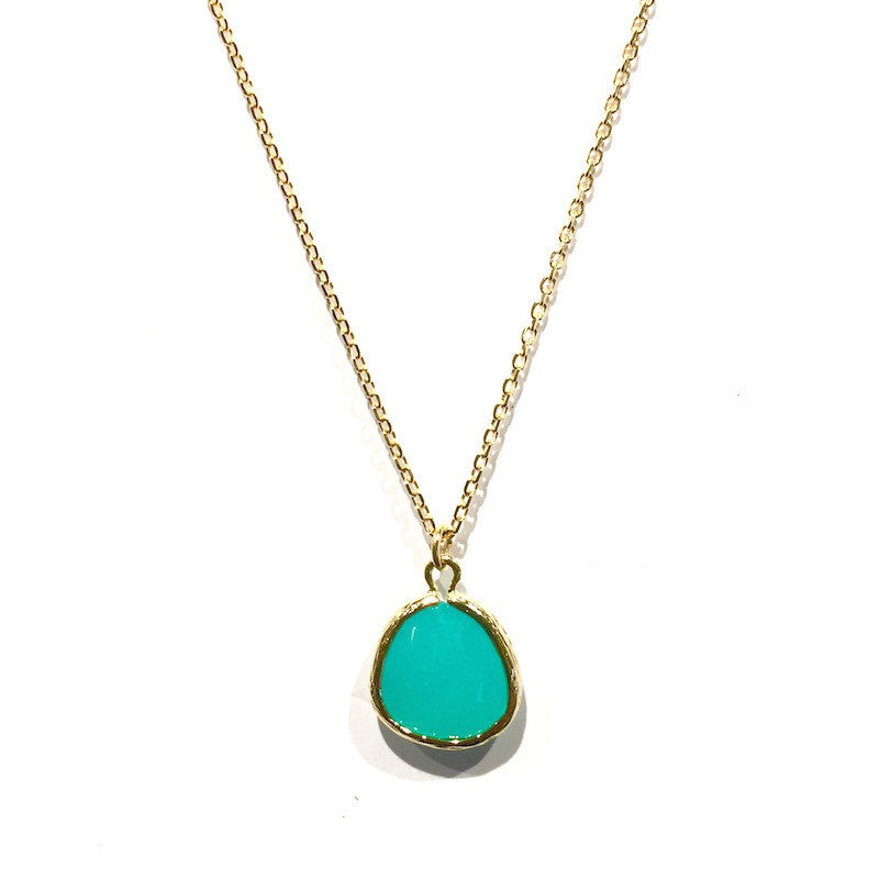 India Necklace - Lagoon