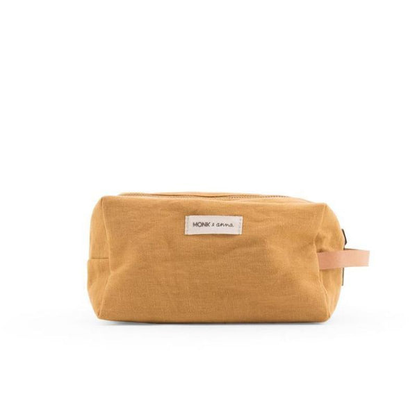 Monk & Anna Toiletry Bag Honey