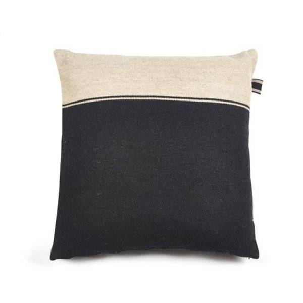 Marshall Cushion - Black Flax