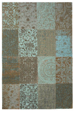 Load image into Gallery viewer, Vintage Patchwork - Sea Blue 8006