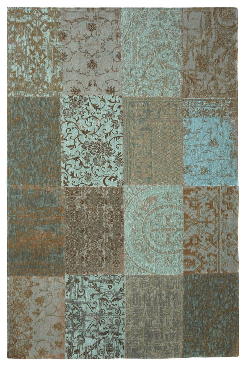 Vintage Patchwork - Sea Blue 8006