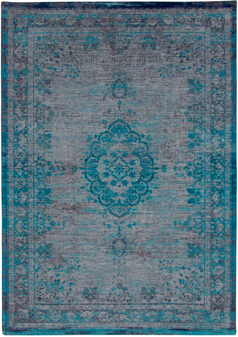 Fading World Medallion - Grey Turquoise 8255