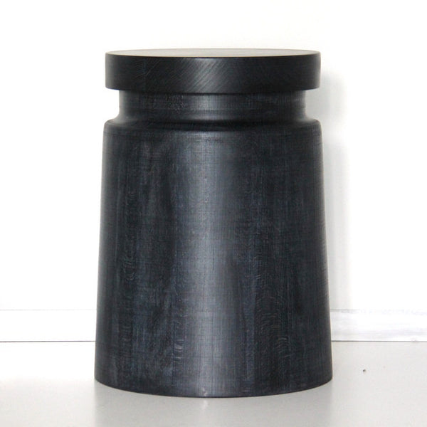 Beech Stool - Black