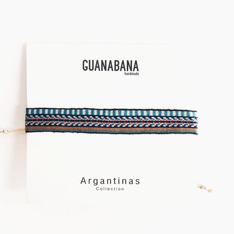 Argentina Maxi - Blue & Red