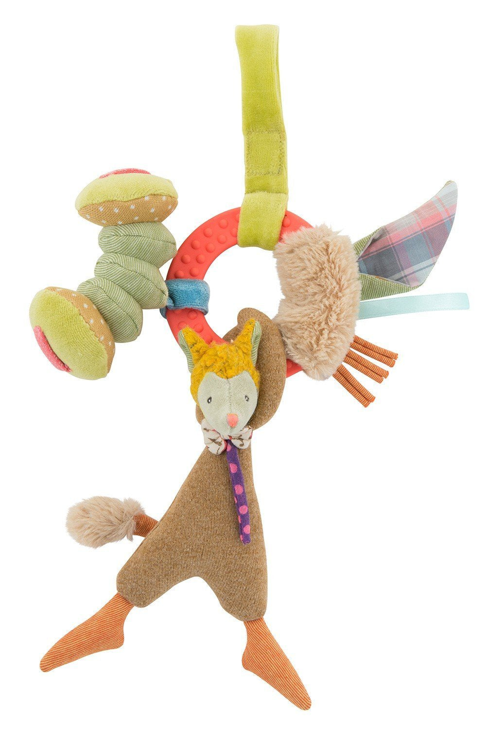 Les Tartempois Wolf Activity Rattle