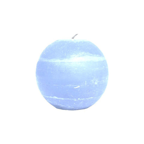 Ball Candle 6.5cm - Light Blue