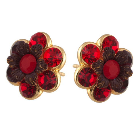 Floral Post Studs