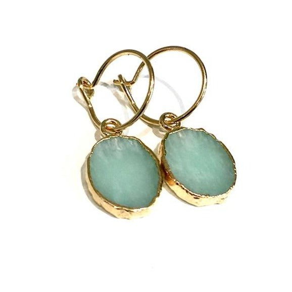 Kara Earrings - Amazonite