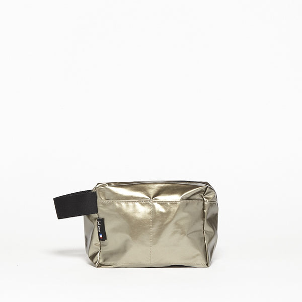 Box Wash Bag Gold