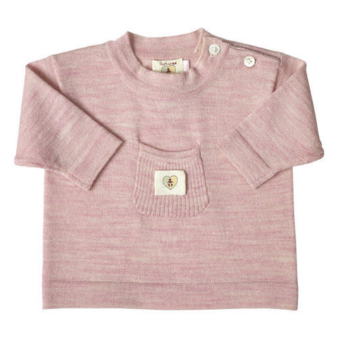 Pure Merino Top - Candytuft Pink