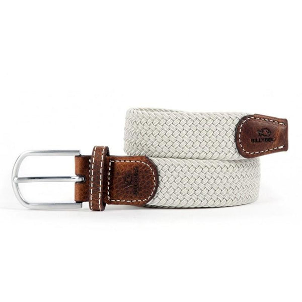 Braided Belt - Grey Seagull