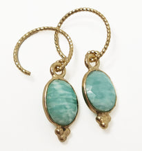 Load image into Gallery viewer, Aura Earrings Amazonite