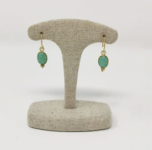 Aura Earrings Amazonite