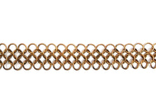 Load image into Gallery viewer, Les Basiques Fine Chainmail Necklace - Bronze