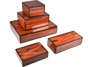 Rosewood Lacquer Boxes