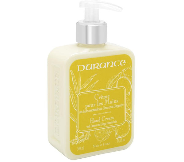 Marseille 300ml Hand Cream - Lemon and Ginger