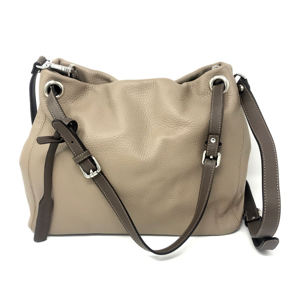 Adria Shoulder Bag Creta with Taupe