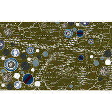 Load image into Gallery viewer, Meesha Merino Scarf Gypsy Map