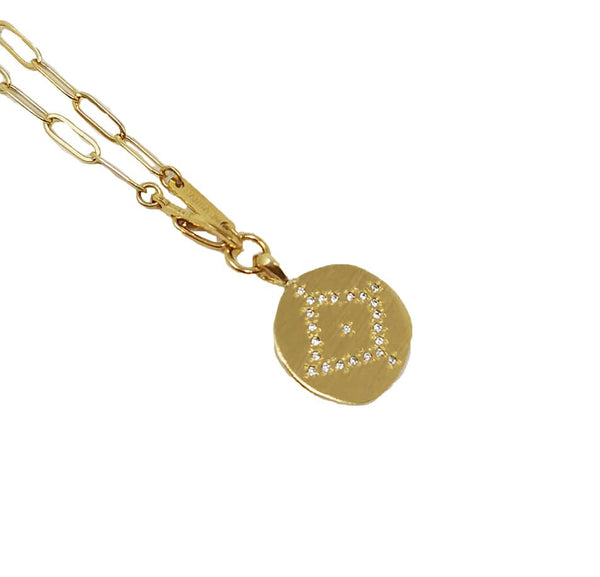 Falcon Multiposition Ajna Medallion Necklace