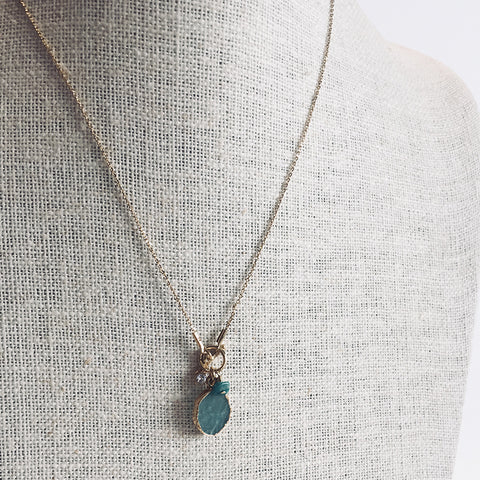 Fetish Collier - Amazonite