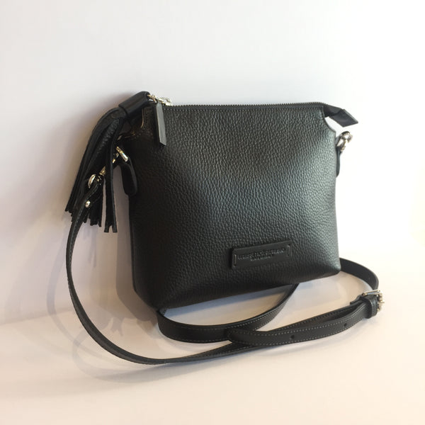 Adria Crossbody Bag Black with  Black
