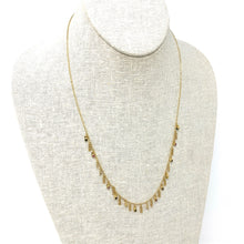 Load image into Gallery viewer, Necklace Sterling Silver, Gold, Zirconium beads Multi Gold