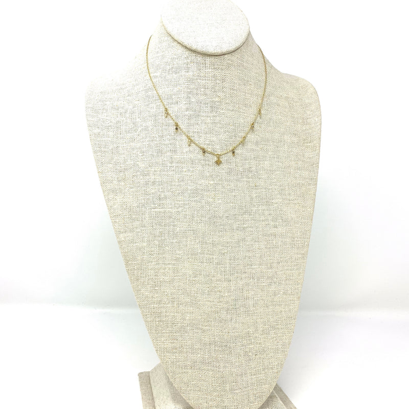 Celeste Necklace Pyrite