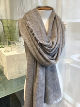 Load image into Gallery viewer, Cashmere Scarf Grey Marl