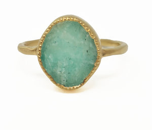 Kara Ring - Amazonite