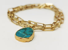 Load image into Gallery viewer, Kurt Neacklace/Wrap Bracelet Chrysocolle