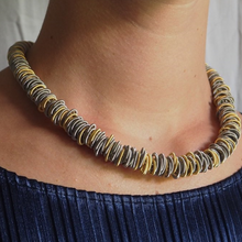 Load image into Gallery viewer, No. 1 Necklace Gold & Silver