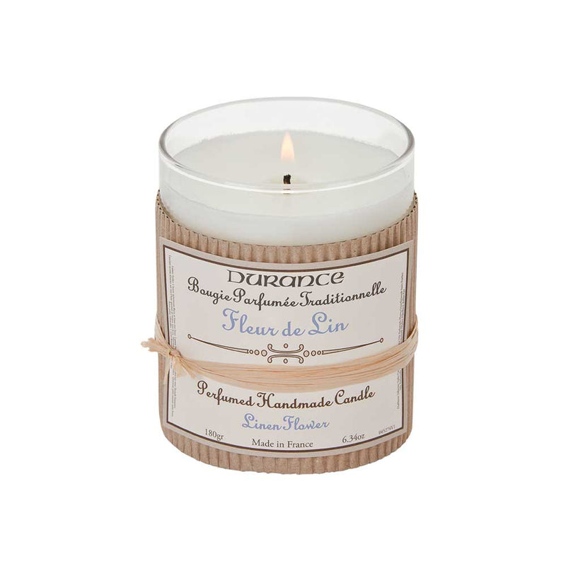 Scented Candle - Linen Flower