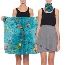 Load image into Gallery viewer, Silk Printed Scarf - Jeanne