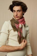 Load image into Gallery viewer, Wool Scarf 448 - Soft Pink