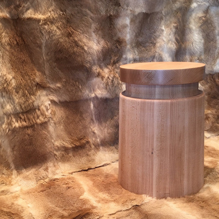 Beech Stool - Natural