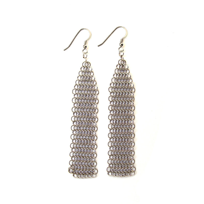Collection B Fine Mesh Earrings
