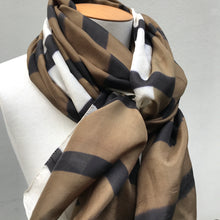 Load image into Gallery viewer, Pure Silk Scarf Jour