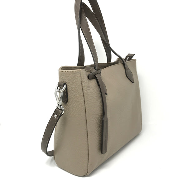 Crossbody Tote Creta with Taupe