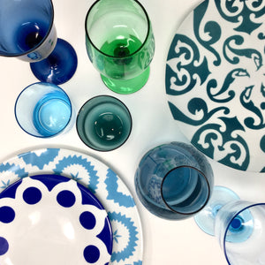 Desigual Tumblers Blue & Green Mix