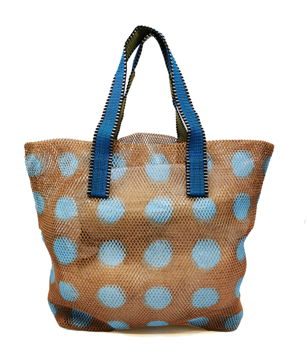 Mesh Tote Bag Small - Caramel